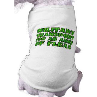 Pet cloths. sleeveless dog shirt