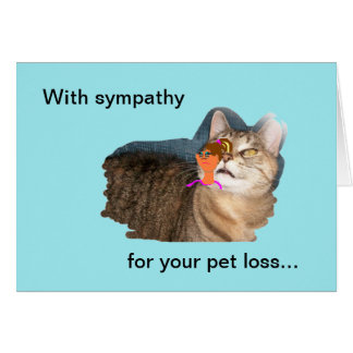 Loss Pet Greeting Cards Zazzle Co Nz