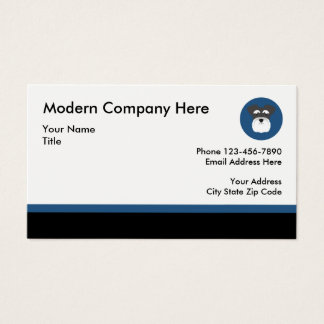 Pet Service Professional Businesscards Business Card
