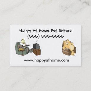 pet sitter business cards zazzle nz