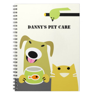 Pet Sitting Business Notebook