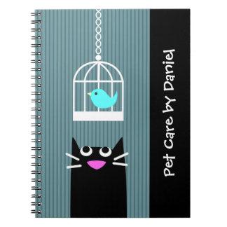 Pet Sitting Business Notebook