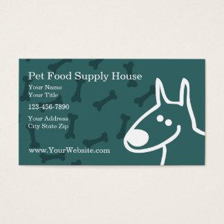 Pet Supplies Business Cards