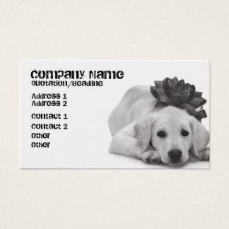 Pet Supply/Groomer/Etc. Business Card