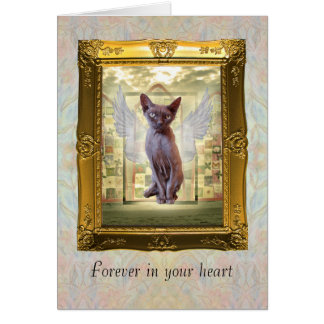 Pet Sympathy Card Forever in your heart