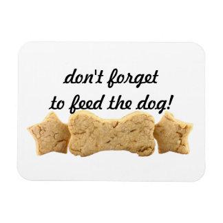 Pet Treats Feed The Dog Premium Magnet