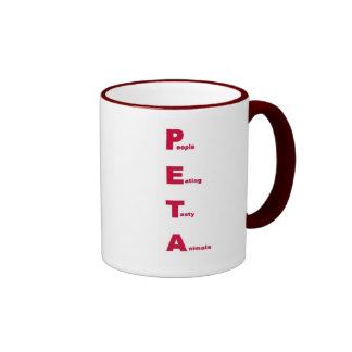 PETA COFFEE MUG