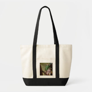 Peter and James Romney, 1766 (oil on canvas) Tote Bag