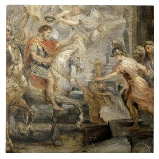 Peter Paul Rubens -Triumphant Entry of Constantine Tile