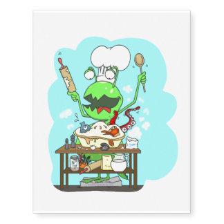 Peter & the Closet Monster, baking