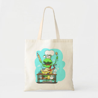 Peter & the Closet Monster, baking Tote Bag