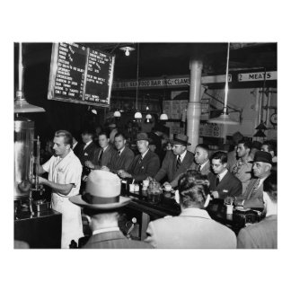 Pete's Bar: 1950 Poster