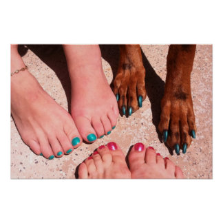 Peticure - Pedicure Spa Day Posters