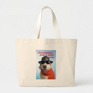 Pets Dog Secret Admirer Valentine Jitka Bags