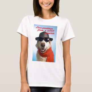 Pets Dog Secret Admirer Valentine Jitka T-Shirt