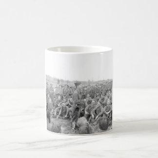 Pfc. Mickey Rooney imitates some_War Image Coffee Mug