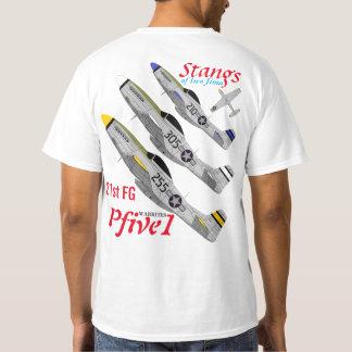 Pfive1 Stangs of Iwo Jima 21st FG T-Shirt