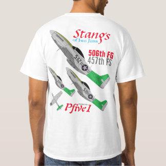 Pfive1 Stangs of Iwo Jima 457th FS T-Shirt