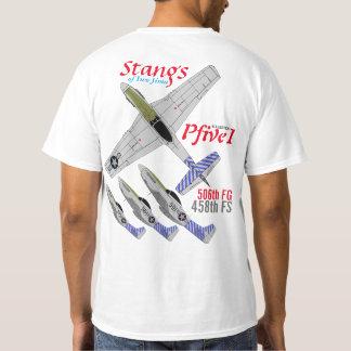 Pfive1 Stangs of Iwo Jima 458th FS T-Shirt