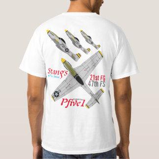 Pfive1 Stangs of Iwo Jima 47th FS T-Shirt