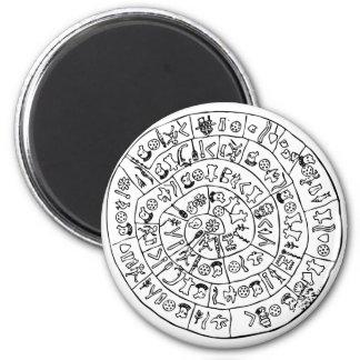 Phaistos disc refrigerator magnet