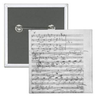 Phantasiestucke, Opus, for piano 15 Cm Square Badge