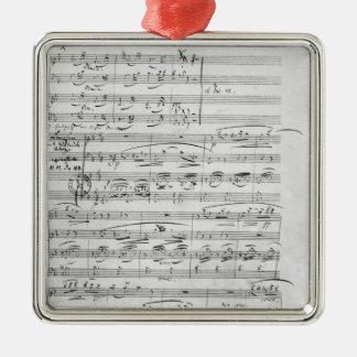 Phantasiestucke, Opus, for piano Christmas Tree Ornament
