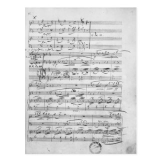 Phantasiestucke, Opus, for piano Postcard