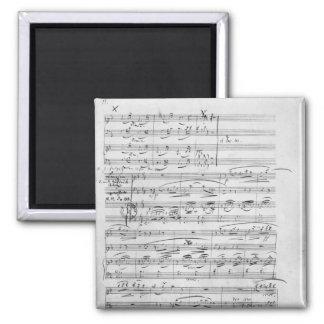 Phantasiestucke, Opus, for piano Square Magnet