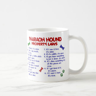 PHARAOH HOUND PL2 COFFEE MUG