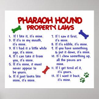 PHARAOH HOUND PL2 POSTER