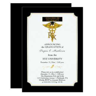 Pharmacy College Pharmacist |Toxicology Graduation Card