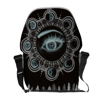 Phases of the Moon Eye Commuter Bag