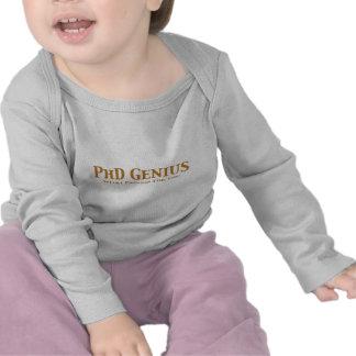 PhD Genius Gifts Tshirts