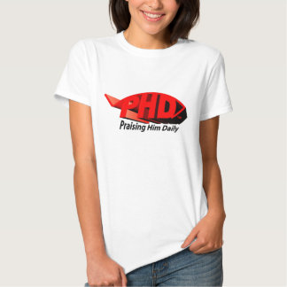 PHD Red 3D T-shirt