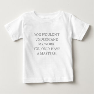 phd research t shirts