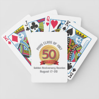PHHS Class of 1967 50-Year Reunion Bicycle Playing Cards