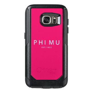 Phi Mu Modern Type OtterBox Samsung Galaxy S7 Case