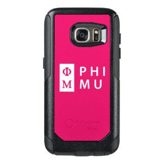 Phi Mu Stacked OtterBox Samsung Galaxy S7 Case