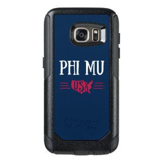 Phi Mu - USA OtterBox Samsung Galaxy S7 Case