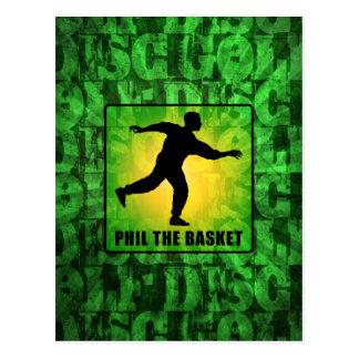 Phil The Basket Postcard