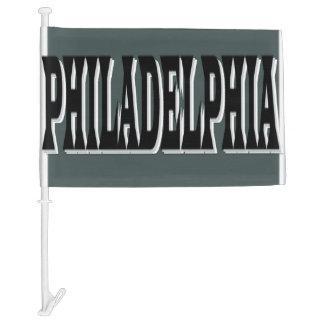 Philadelphia Green Car Flag