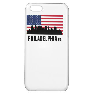 Philadelphia PA American Flag Cover For iPhone 5C