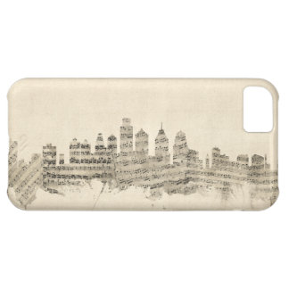 Philadelphia Pennsylvania Skyline Sheet Music City iPhone 5C Case