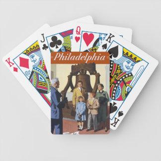 Philadelphia Railroad PA US USA Vintage Travel Bicycle Playing Cards