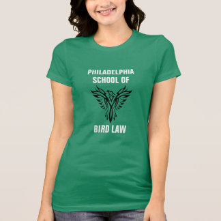 Philadelphia School of Bird Law Kelly Green T-Shirt