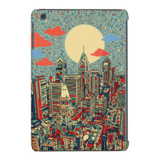 philadelphia skyline iPad mini case