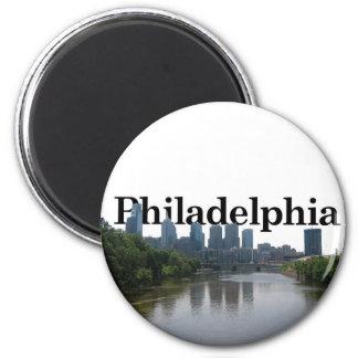 Philadelphia Skyline - with Phil. in the backgrnd Magnet