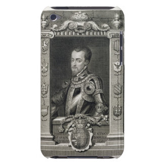 Philip II (1527-98) King of Spain from 1556, engra iPod Touch Cover