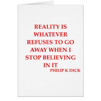 philip k dick quote card
